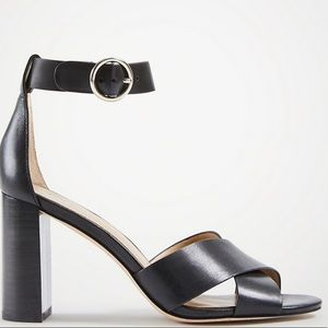 New in Box! Ann Taylor block heeled sandals